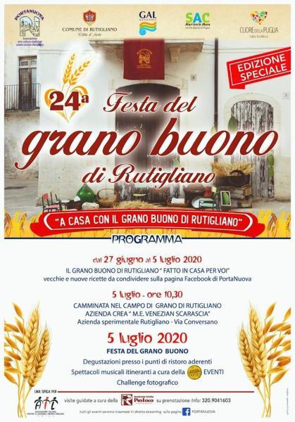 24^ Festa del «Grano Buono di Rutigliano»