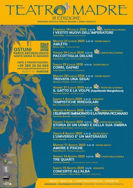 Teatro Madre Festival 2020