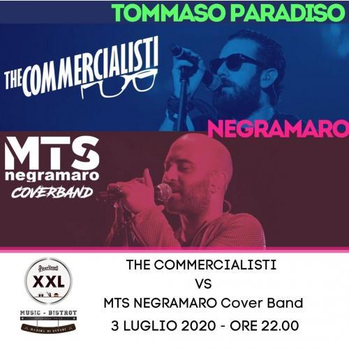 MTS NEGRAMARO vs THE COMMERCIALISTI LIVE