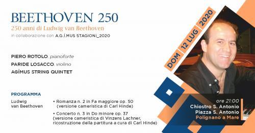 Ad Libitum - La Grande Musica a Polignano. Beethoven 250