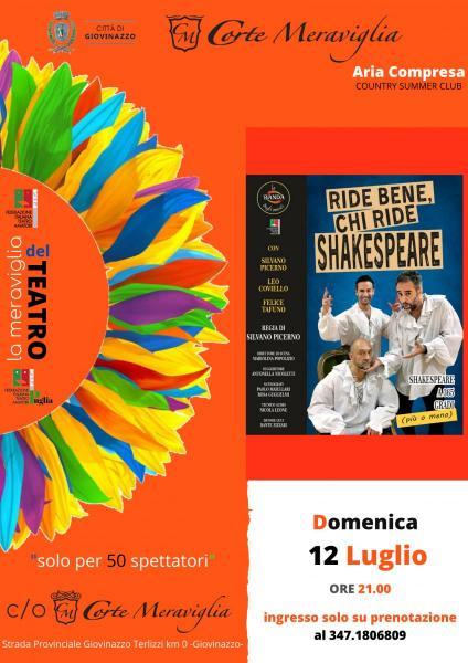 """""""RIDE BENE, CHI RIDE SHAKESPEARE"""" Shakespeare a 365° (più o meno)"""
