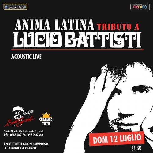 Anima latina - tributo a Lucio Battisti acoustic live a Trani