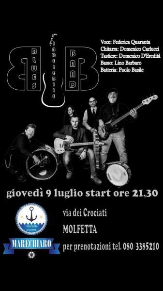 Blues Indelebile Band in concerto