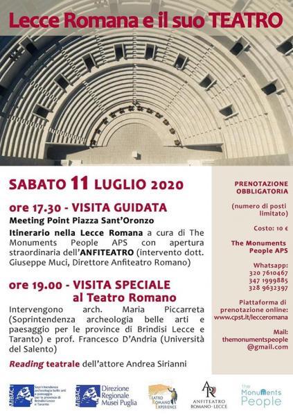 Lecce Romana e il suo Teatro