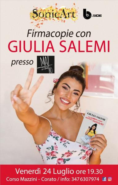 Firmacopie con GIULIA SALEMI