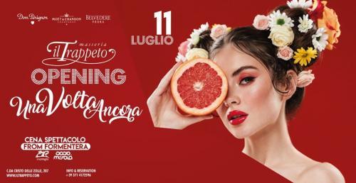 """il SABATO - Inaugurazione Trappeto Summer """"una Volta Ancora"""" (cena spettacolo & djset)"""