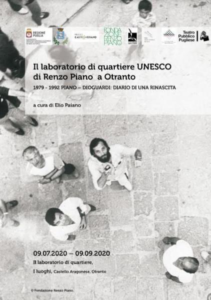 Laboratorio di quartiere di Renzo Piano a Otranto: la mostra