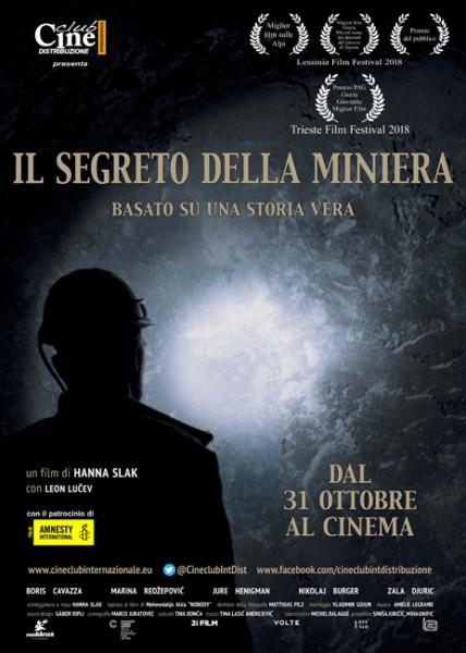 CinemaMondo. Film IL SEGRETO DELLA MINIERA, di Hanna Sack (Slovenia, Bosnia-Erzegovina 2017)