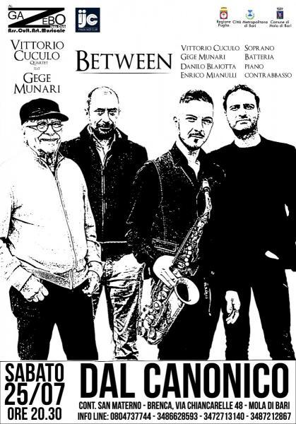 Vittorio Cuculo Quartet feat. Gegè Munari