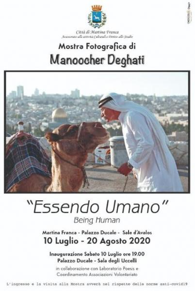 """Essendo Umano. Being Human"" la mostra di Manoocher Deghati"