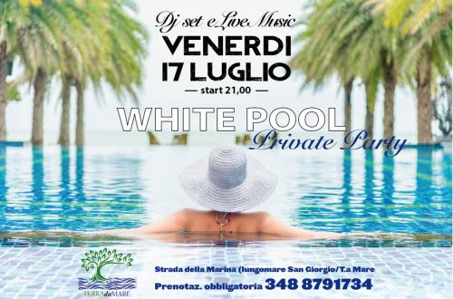 WHITE Private Pool Party