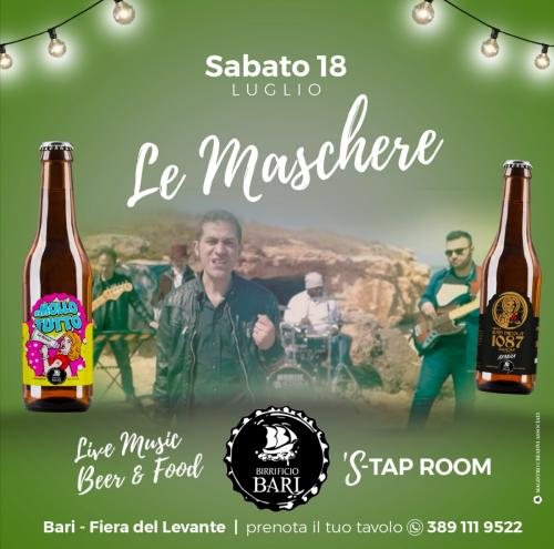 Le Maschere live in beergarden