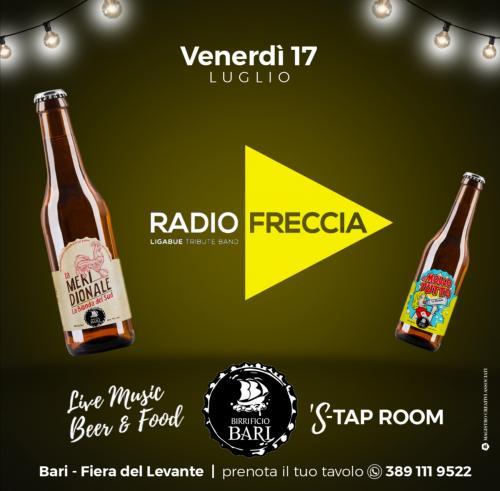 RadioFreccia live in beergarden