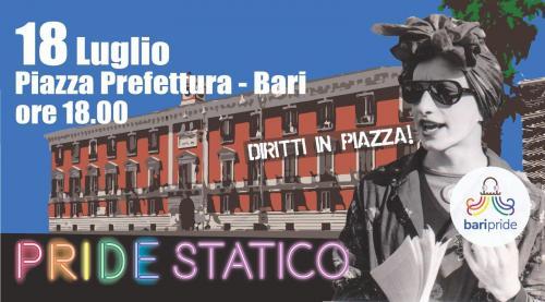 A Bari il Pride statico
