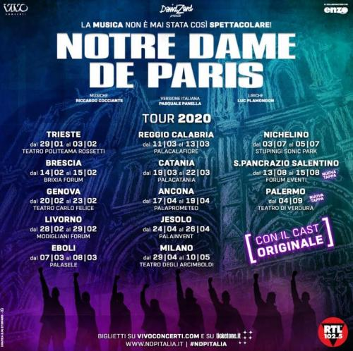 Notre Dame de Paris nel 2021 torna in Puglia