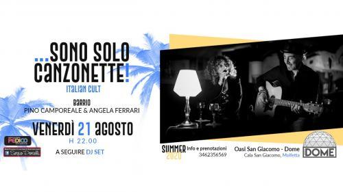 Sono solo canzonette! - Italian cult - Barrio live a Molfetta