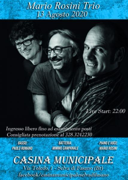 Mario Rosini trio Una canzone intorno al mondo