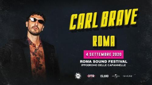 Roma Sound Festival: Carl Brave il primo nome annunciato
