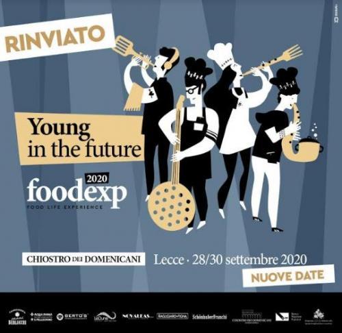 FoodExp - Food Life Experience posticipato a Settembre