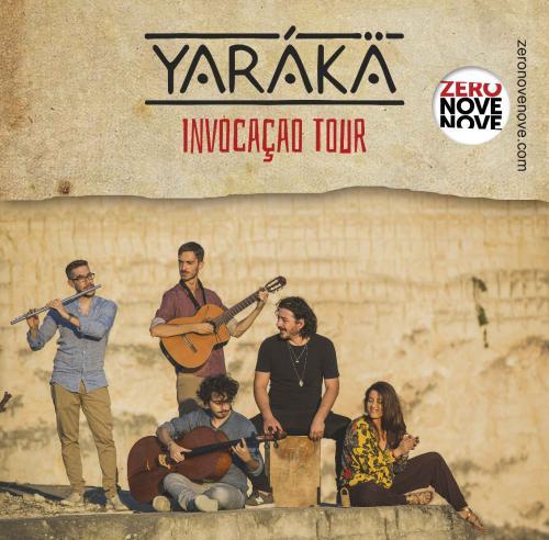 YARÁKÄ in concerto, sabato 5 settembre a La'nchianata