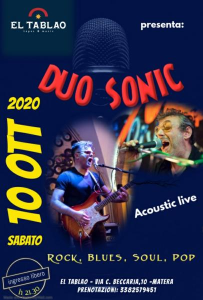 DUO SONIC - Acoustic live