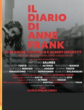Il Diario di Anne Frank, in scena a Roma