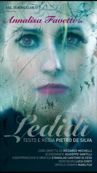 """Ledidi"", Annalisa Favetti interpreta Lady Diana"