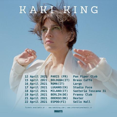 Kaki King live a Roma