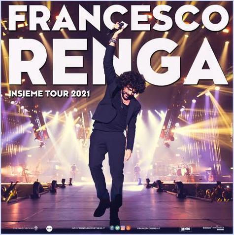 Francesco Renga a Bari il prossimo maggio