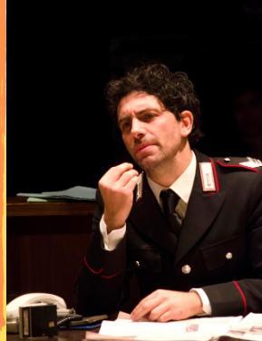 Minchia Signor Tenente, in scena a Roma