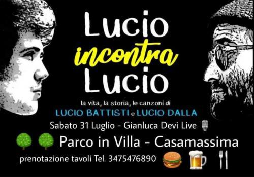 Gianluca Devi | Lucio incontra Lucio! Tributo a Lucio Battisti e Lucio Dalla!