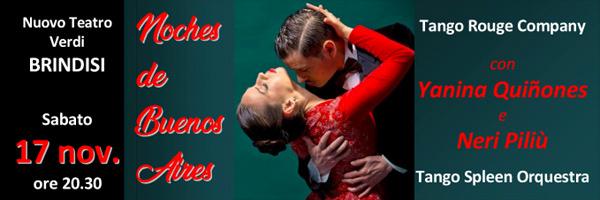 NOCHES DE BUENOS AIRES  Spettacolo di tango Argentino con Yanina Quiñones e Neri Piliù
